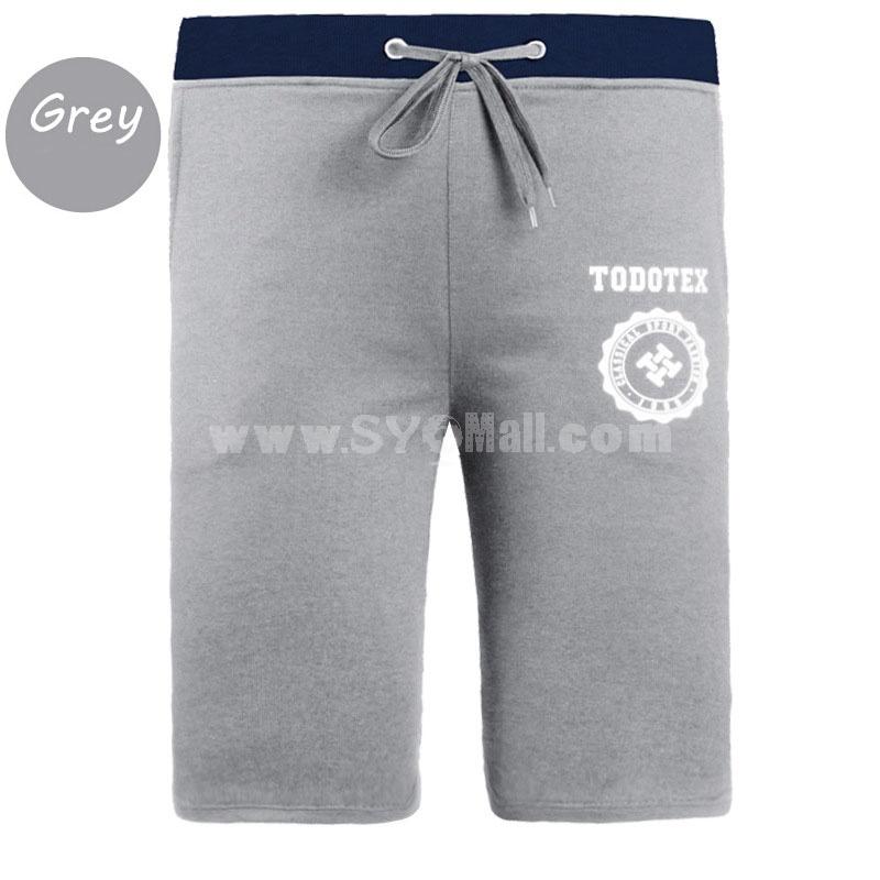 Men Casual Shorts Summer Fifth Pants Sport Pants Yoga Pants