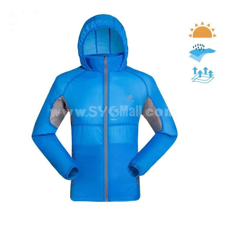 Men Waterproof Breathable Bicycle Coat Light Sun Protection Clothing Quick-Dry Clothes 4004