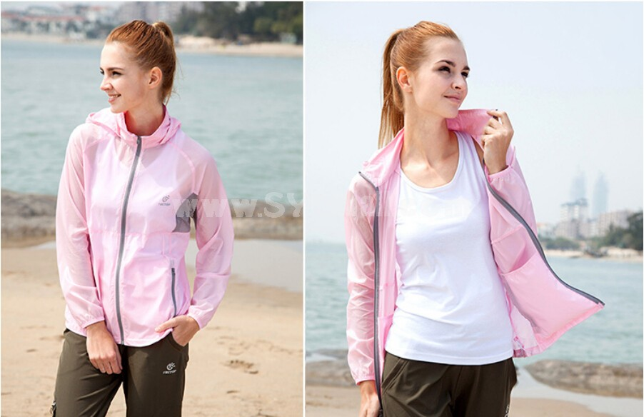 Women Waterproof Breathable Bicycle Coat Light Sun Protection Clothing Quick-Dry Clothes 4003