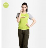 Wholesale - Women Breathable Sun Protection Clothing Quick-Dry Short Sleeve Shirt 3066