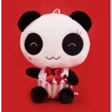 wholesale - Cute Gentleman Panda Plush Toy with Red Tuxedo 31cm/12.2""