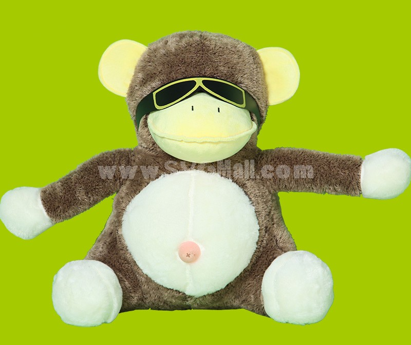 """Cool Spactacles Monkey Plush Toy 28cm/11.0"""""""