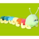 "Wholesale - Colorful Caterpillar Plush Toy Plush Cushion 51cm/20.1"""