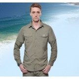 Wholesale - Men Quick-Dry Long Sleeve Shirt Outdoor Clothing SL3029