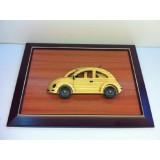 Wholesale - Handmade Wooden Home Decoration Beetle Vintage Car Cameo Photo Frame Gift Frame