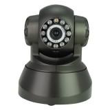 Wholesale - 10 LED Wireless Night Vision WIFI Pan/Tilt IP Camera - Black
