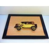 Wholesale - Handmade Wooden Home Decoration Vintage Car Cameo Photo Frame Gift Frame 004