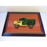 Wholesale - Handmade Wooden Home Decoration Vintage Car Cameo Photo Frame Gift Frame 005