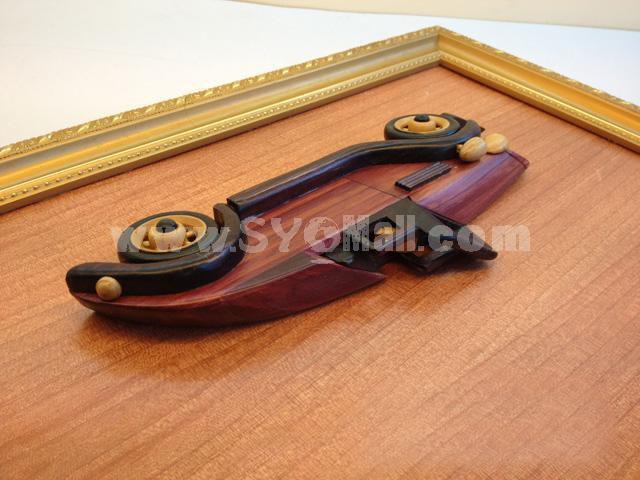 Handmade Wooden Home Decoration Vintage Car Cameo Photo Frame Gift Frame 006