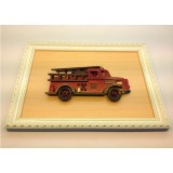 Wholesale - Handmade Wooden Home Decoration Vintage Car Cameo Photo Frame Gift Frame 007