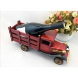 Wholesale - Handmade Wooden Home Decoration Truck Vintage Car Wine Holder Car Model