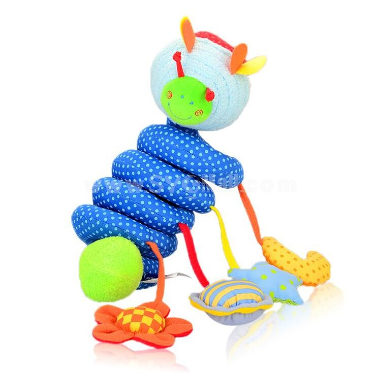 Itslmagical Activity Spiral Baby Toys Blue Bee
