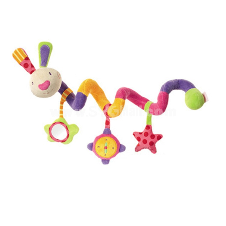 Fehn Activity Spiral Colorful Hare