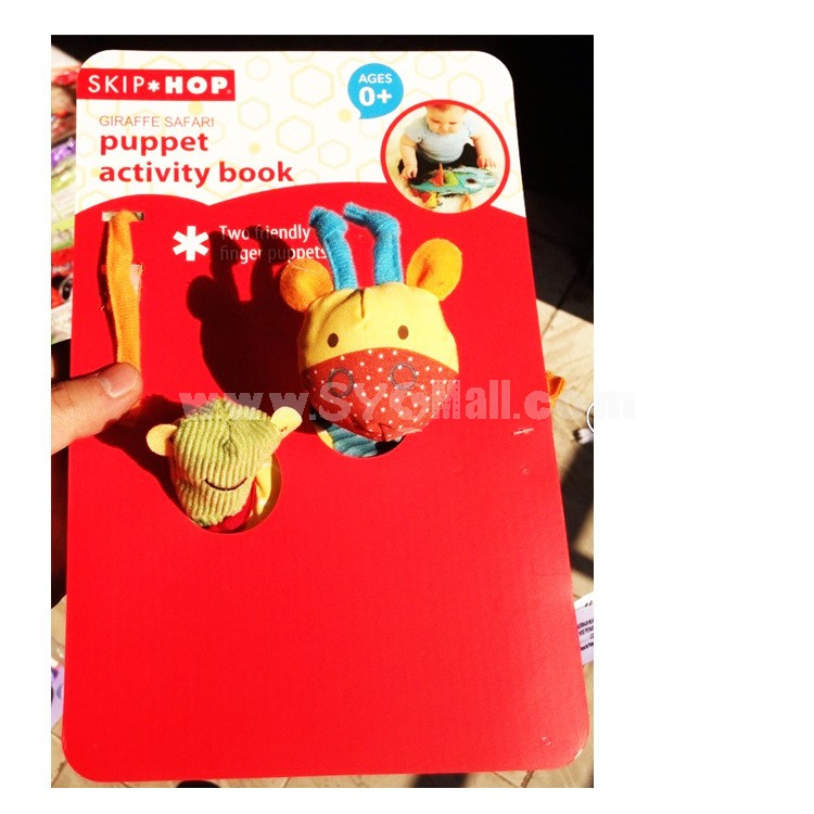 Cloth Book Soft Book Cute Deer Early Education