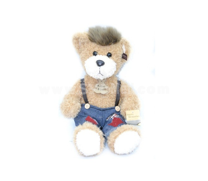 Cute Bear with Suspender Trousers 40cm/15.7inch