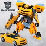 Wholesale - 4th Generation Super Change Robert Optimus Bumblebee Figure Toy 29cm/11.4inch