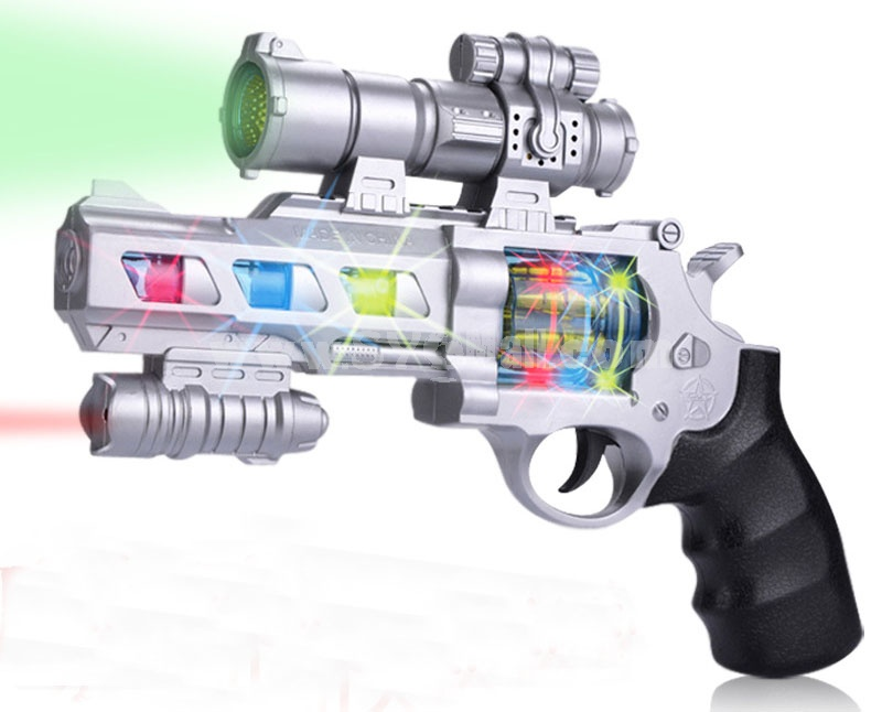 Musical Pistol Toy Revolving Pistol Toy 8020