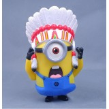 Wholesale - Despicable Me The Indian Mininons Figure Toys 15cm/5.9inch