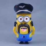 Wholesale - Despicable Me The Mininons with Black Mustache Figure Toys 15cm/5.9inch