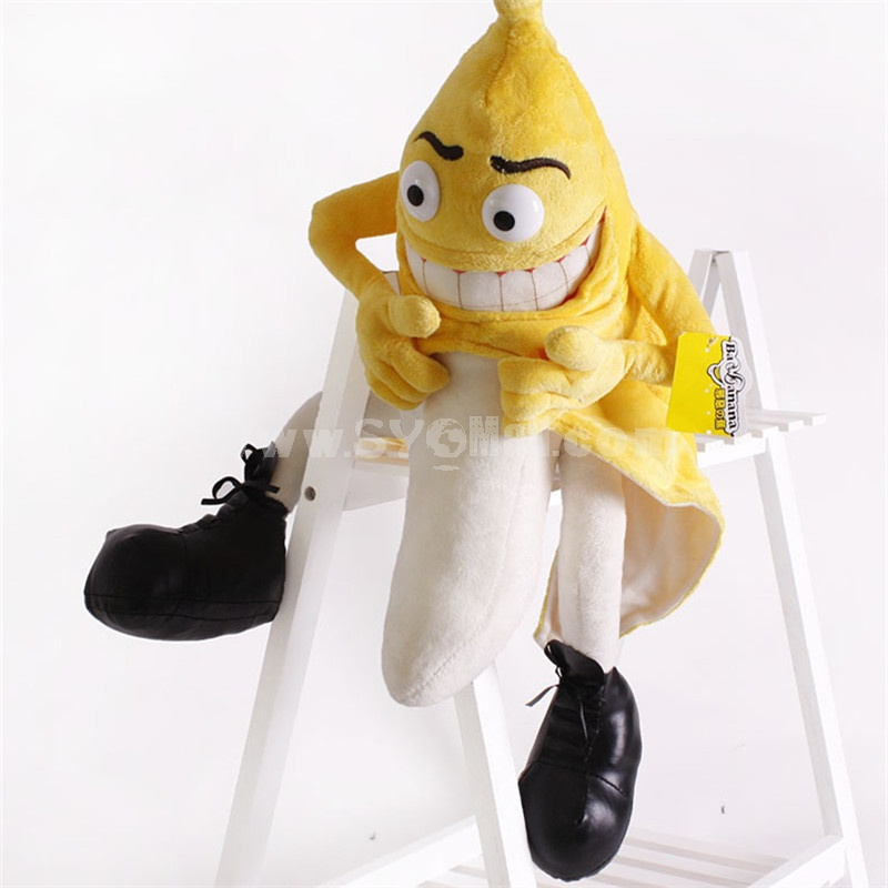 Bad Banana Man Evil Banana Plush Toy 40cm/15.7inch