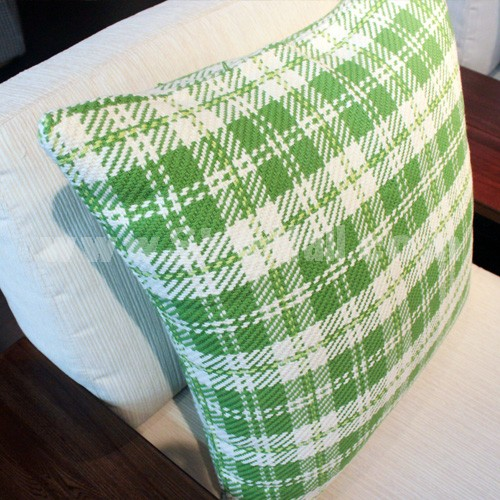 Modern Decoration Square Pillow Cover Pillow Sham -- Simple Checks