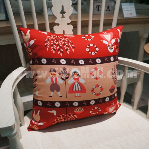 Modern Decoration Square Pillow Cover Pillow Sham -- Fariy Tale World