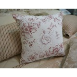 Wholesale - Modern Decoration Square Pillow Cover Pillow Sham -- Cottonrose Hibiscus
