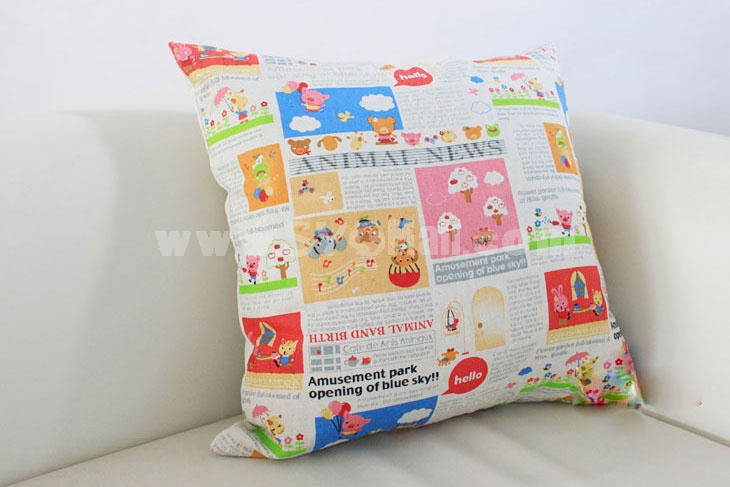 Home/Car Decoration Pillow Cushion Inner Included -- American Style