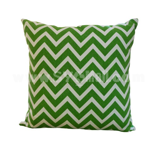 Home/Car Decoration Pillow Cushion Inner Included -- Ripple Pattern