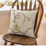Wholesale - Home/Car Decoration Pillow Cushion Inner Included -- Pplum Blossom