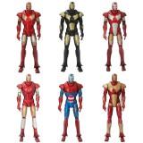 wholesale - 6 Different Iron Man Figure Toys 6pcs/Lot 6inch