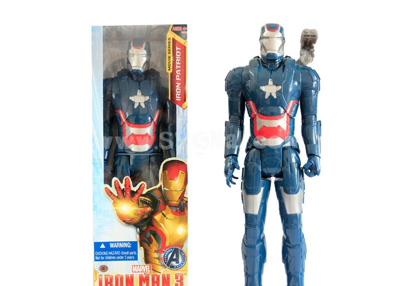 Marvel Blue Iron Man Figure Toy Action Figure 29cm/11.4inch