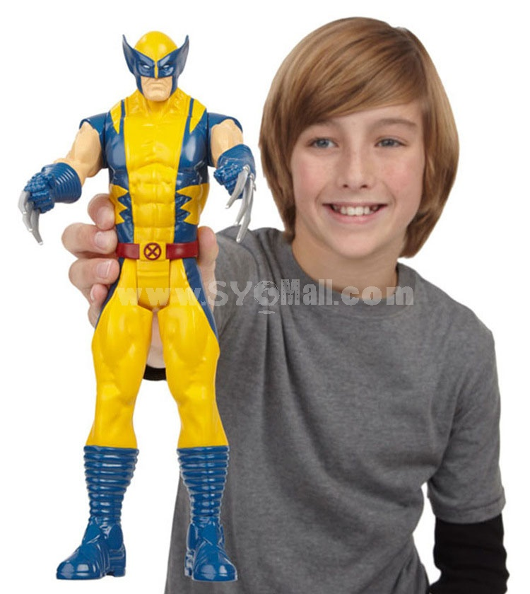 Marvel Wolverine Figure Toy Titan Hero Action Figure 12inch