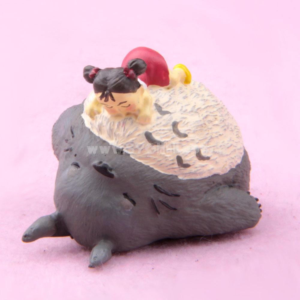Sleeping Toroto Action Figure Figure Toy Artware 1.9inch