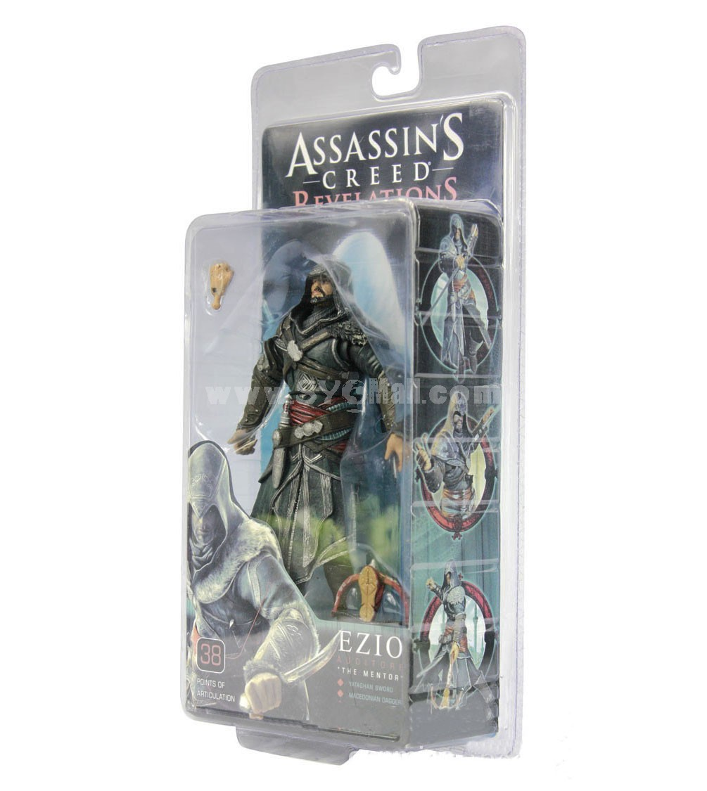 Assassin's Creed Ezio Figure Toy Joints Moveable Action Figure 20cm/7.9inch
