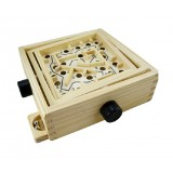 Wholesale - Wooden Table Gravity Ball Labyrinth Children Educational Toy