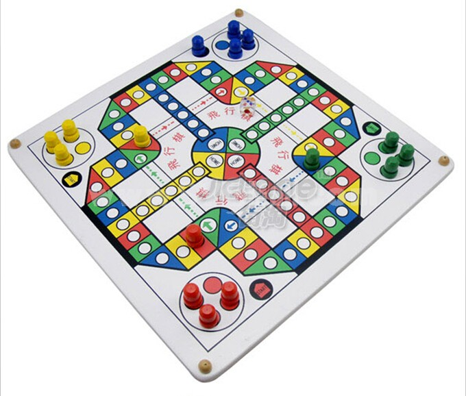 Aeroplane Chess Game Table Game Children Educational Toy