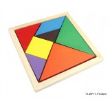 Wholesale - Colorful Tangram Seven-piece Puzzle Children Educational Toy