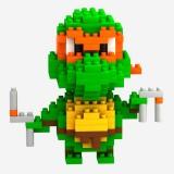 LOZ DIY Diamond Mini Blocks Figure Toy Teenage Mutant Ninja Turtles Michelangelo 9150