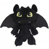 Wholesale - How to Train Your Dragon Plush Toy stuffed Animal Night Fury Toothles 30cm/11.8inch