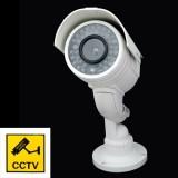 Wholesale - Outdoor Dummy Security Waterproof Camera Realistic Looking Fake Surveillance Camera