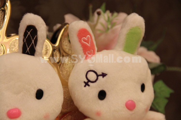 "Loving Heart Rabbit Plush Toy 18cm/7"""