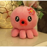 Wholesale - Cute Flower Octopus Plush Toy Stuffed Animal 18cm/7""
