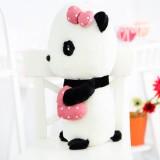 "Wholesale - Lovely Bowknot Loving Heart Plush Toy 45cm/17.7"""
