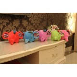 "Wholesale - Flora Ear Elephant Plush Toy 18cm/7"""