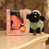 "Wholesale - Cute Poldka Black Sheep 12s Recording Doll Plush Toy 18cm/7"""