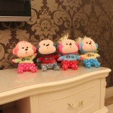 Wholesale - Cute Pouting Monkey Plush Toy 18cm/7""