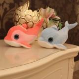 """Wholesale - Cute Little Dolphin Plush Toy 18cm/7"""" 2pcs/Set"""
