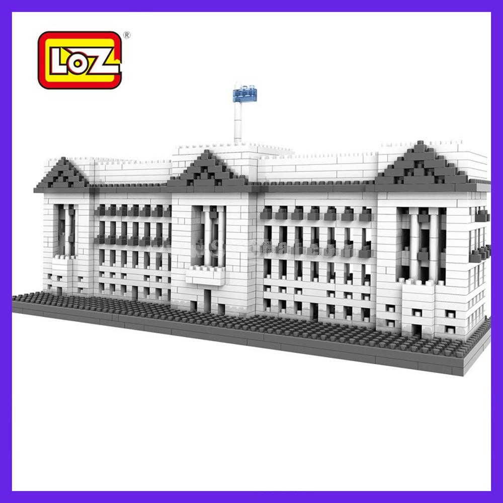 LOZ DIY Diamond Blocks Figure Toy 9347 Buckingham Palace