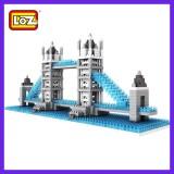 LOZ DIY Diamond Mini Blocks Figure Toy 9371 Tower Bridge